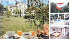 Affitto bed & breakfast mare peymeinade grasse