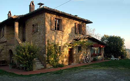 Affitto villa campagna montepulciano