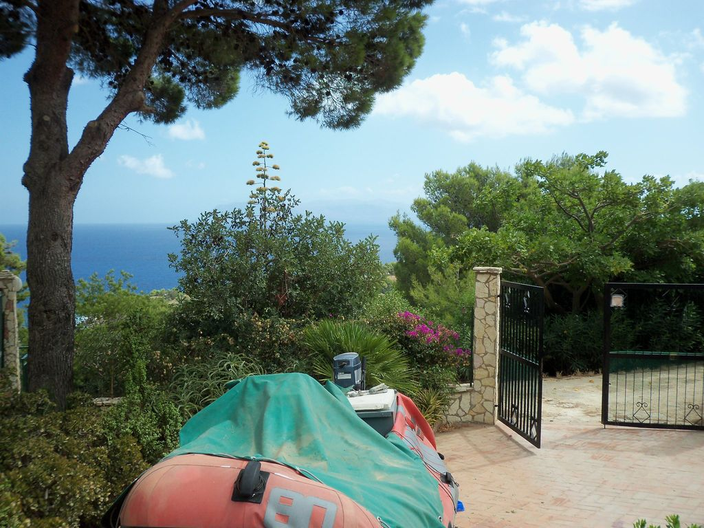 Rent villa seaside castellammare del golfo scopello