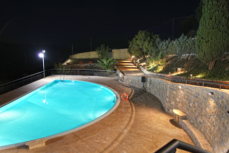 Rent villa mountain gangi