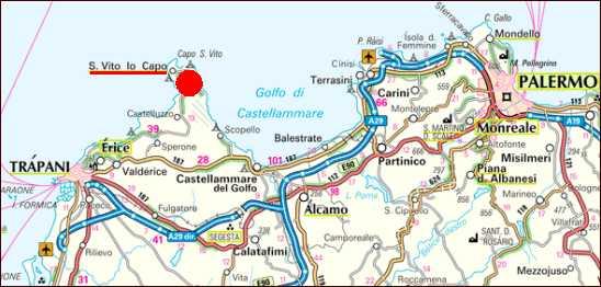 San Vito Lo Capo Cartina Sicilia.Foto Affitto Casa Vacanze Mare San Vito Lo Capo