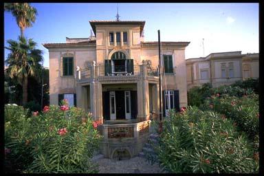 Affitto villa mare palermo