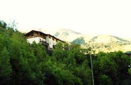 Affitto casa vacanze montagna san colombano